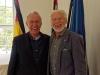 99) Dr. med. Christof Krieg (li) und Bernhard-Michael Domberg, Seniorenbeirat | Klick zum vergroessern
