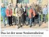 Segeberger Zeitung vom 17.04.2015 - der neue Seniorenbeirat | KLICK = vergrössern
